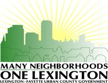 Many Neighborhoods One Lexington Logo